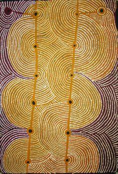 Hector Tjupuru Burton ~ Anumara Tjukurpa, 2009 (Australian aboriginal art)  [per previous pinner]
