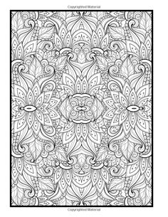 Advanced Coloring Designs Book For Adults Holly White 9781511873192 Amazon