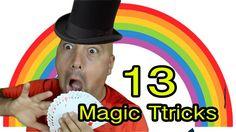 13 Easy Magic tricks revelad Easy Magic Tricks, Shops, Magick, Tents, Retail, Retail Stores