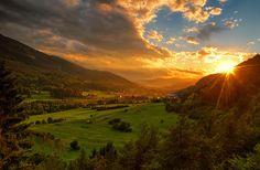 Tramonto - Val di Fiemme