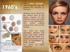 Make up of 1960s.