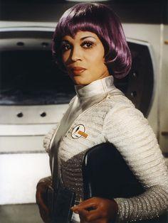 "Dolores Mantez as Nina Barry on ""UFO"" http://www.imdb.com/name/nm0544096/"