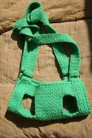 Résultats de recherche d'images pour «pet bag crochet»