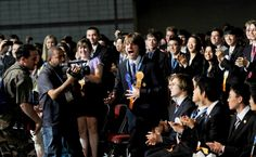 Jack Andraka wins intel sceince fair 2012 - I am so inspired by Jack, his ernest will to help human beings through science is awesome.  Thank you #JackAndraka for being you.