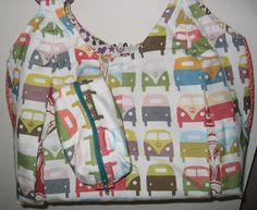 VW Bus Bag by homegrownandhandsewn on Etsy
