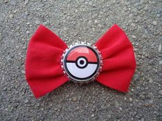 I found 'Red Pokeball Bow by bwoman on Etsy' on Wish, check it out!