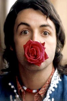 Paul McCartney.  My first dream boyfriend. Now I'm married to his doppleganger!