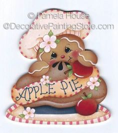 Apple Pie Ginger by Pamela House - PDF DOWNLOAD