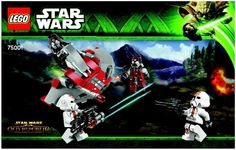 Star Wars - Republic Troopers (TM) vs Sith (TM) Troopers [Lego 75001] Instructions
