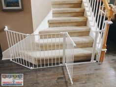 Stairs are one of the most crucial features in need of childproofing. Is your little one in danger? Take a step in the right direction by calling Safe Baby Childproofing Services to set up a consultation in your home today!