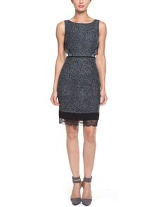 Ivanka Trump Black & Ivory Lace Accent Dress is on Rue. Shop it now.