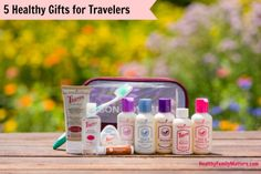 5 Healthy Gifts for Travelers