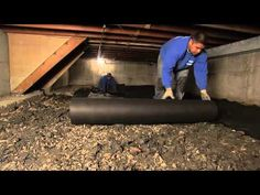 Crawl space: a limited area of space under floor or in roof. Used for electrical, plumbing or storage.