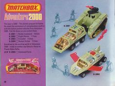 Matchbox - Adventure 2000 - also tied in to 2000AD comic