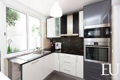 Projecto Apartamento Turístico T2 na Graça em Lisboa : Cozinhas modernas por EU INTERIORES