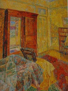 Interior in Yellow by Grace Cossington Smith I knew this wardrobe very well once. I met Grace Cossington Smith once too. Art Works, Interior Art, Culture Art, Abstract Painting, Painting, Painting Patterns, Art, Painting Frames, Interior Paintings