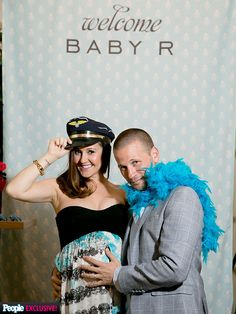 Inside J.P. and Ashley Hebert Rosenbaum's Baby Shower http://musicinthewomb.com/content/inside-j-p-and-ashley-hebert-rosenbaums-baby-shower
