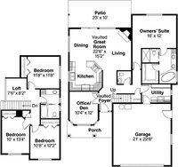 floor plans for home ideas on bungalow house plans bungalow 11723