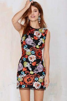 Nasty Gal Rosanna Lace Dress