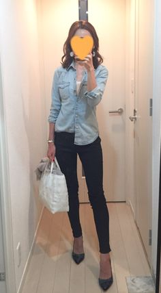 Fashion Pants, Fashion Face, Womens Fashion, Fall Winter Outfits, Autumn Winter Fashion, Navy Pants Outfit, Nouveau Look, Japan Fashion, Everyday Outfits