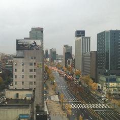 #ipone6  #20151113  #korea  #Seoul  #비오는날 #도산대로