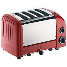 Buy Dualit Heritage NewGen 4-Slice Toaster Online at johnlewis.com
