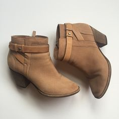 Dolce Vita Ankle Boots Not entirely sure I want to sell but am looking for a similar pair with a slightly shorter heel. In excellent condition. SO cute and fit tts. Dolce Vita Shoes Ankle Boots & Booties