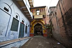 The House of Nand- This is where Lord #Krishna spent his childhood and Ma Yashodha raised him as his own! -in #Gokul near #Vrindavan
