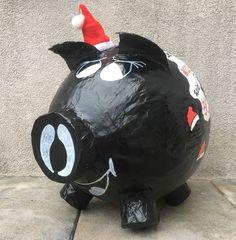 Sparschwein XXXL Nikolaus Weihnachten Geldgeschenk Briefbox Kartenbox Umschlagbo