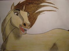 Spirit the horse, art