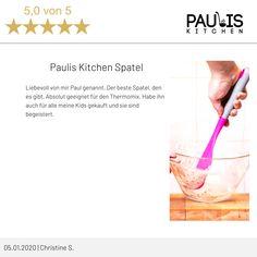 Feedback 😘  Liebevoll von mir Paul genannt. Der beste #Spatel, den es gibt. Absolut geeignet für den #Thermomix. Habe ihn auch für alle meine Kids gekauft und sie sind begeistert.      #thermomix #tm6 #tm5 #tm31 #bimby #spatel #kitchenaid #kochen #cooking  #flexibel #professional #recycle #sustainable #reusable  #kitchengadgets #chemicalfree #spatula #backen Mixer, Smoothie, Icing, Kitchenaid, Desserts, Simple, Tailgate Desserts, Dessert, Postres