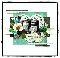 A Project by MajaStokk from our Scrapbooking Gallery originally submitted 07/14/12 at 05:23 AM