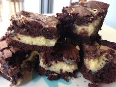 The Recipe Place: Chocolate Cheesecake Marbled Brownies