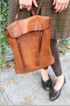 Ok I'll admit I have a problem--an addiction to brown leather bags! I can't and won't stop it :)