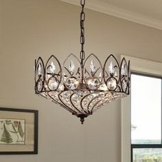 Shop for Fridrick Rustic Bronze 3-Light Pendant with Crystal Shade. Get free shipping at Overstock.com - Your Online Home Decor Outlet Store! Get 5% in rewards with Club O! - 21905160