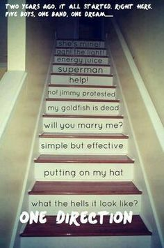 Anyone remember these stairs?