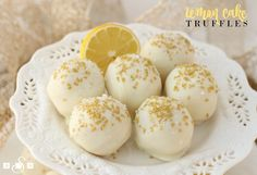 I made these delicious truffles not long ago and guess what- they were from a mix! Krusteaz has this amazing Lemon Pound Cake mix and I thought it would be fun to transform the cake into truffles instead. They not only tasted great but they were so pretty- they'd be perfect for your New Year's...Read More »
