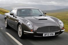 David Brown Speedback GT first drive review - $600k ~ Jaguar underpinnings ~ no relation to SirDB  of Aston Martin fame ~ despite the remarkable similarity in design elements of the two car makers.