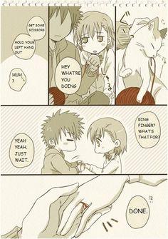 To Aru Majutsu no Index - Kamijou & Mikoto are a little embarrassed 03