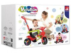 Triciclo Infantil Bandeirante - Velopan Plus Passeio Haste Removível Porta Objetos com as melhores condições você encontra no Magazine Raimundogarcia. Confira!