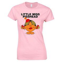 Bang Tidy Clothing Women's Little Miss Pisshead Drinking T Shirt Pink M BANG TIDY CLOTHING http://www.amazon.co.uk/dp/B00VRG5N0I/ref=cm_sw_r_pi_dp_VV.ivb0513QEK