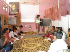Hindi workshop for care takers / teachers of NGO Saath in #Delhi on Learning disabilities inside classrooms by Orkids  www.orkidsped.com