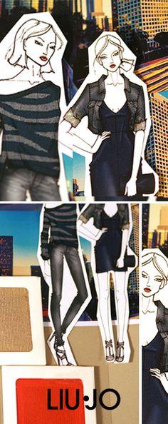 Liu Jo Jeans SS215 #SS15 #moodboard