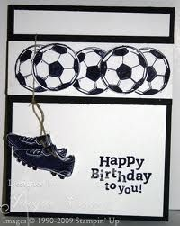 Another great soccer birthday card