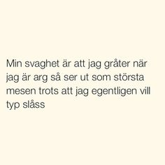 Se foton och videoklipp från SITUATIONER (@situationer) på Instagram Mad Quotes, Silly Quotes, Life Quotes, Deep Words, True Words, Swedish Quotes, Cheesy Quotes, Quotes About Everything, Different Quotes