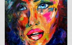 """""""Blue eyes"""" – Oil on canvas Acrylic Canvas, Oil On Canvas, Blue Eyes, Painting, Art, Art Background, Painted Canvas, Painting Art, Kunst"""