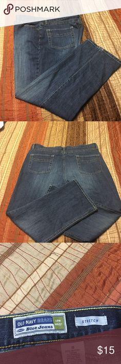 Old Navy Low Waist Stretch Sz 18 Great pair of jeans in Pristine condition. Old Navy Jeans