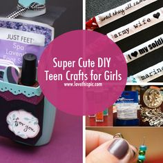 DIY Projects For Teens And Tweens Teen Crafts Ideas