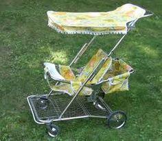 when baby strollers looked like this... nada que ver con los super coches de hoy en día.,