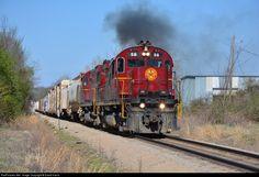 RailPictures.Net Photo: A&M 56 Arkansas & Missouri Railroad Alco C420 at Fort Smith, Arkansas by David Harris
